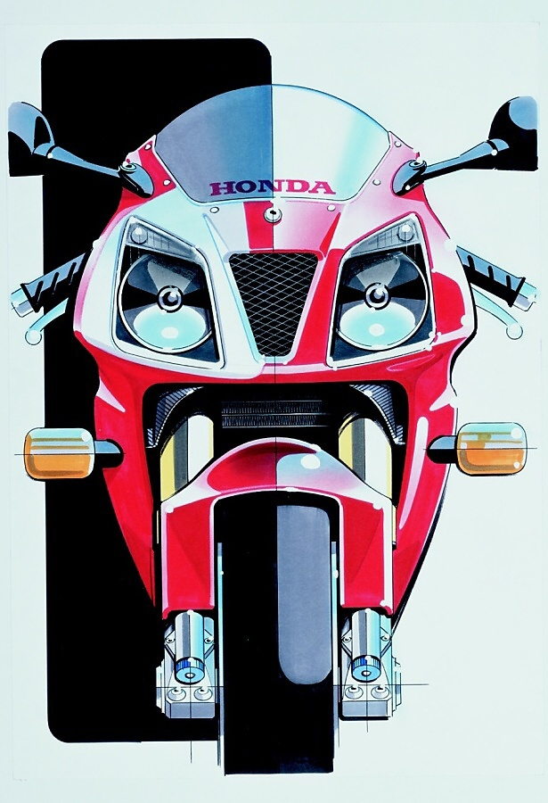 LEGENDA: Honda VTR SP2