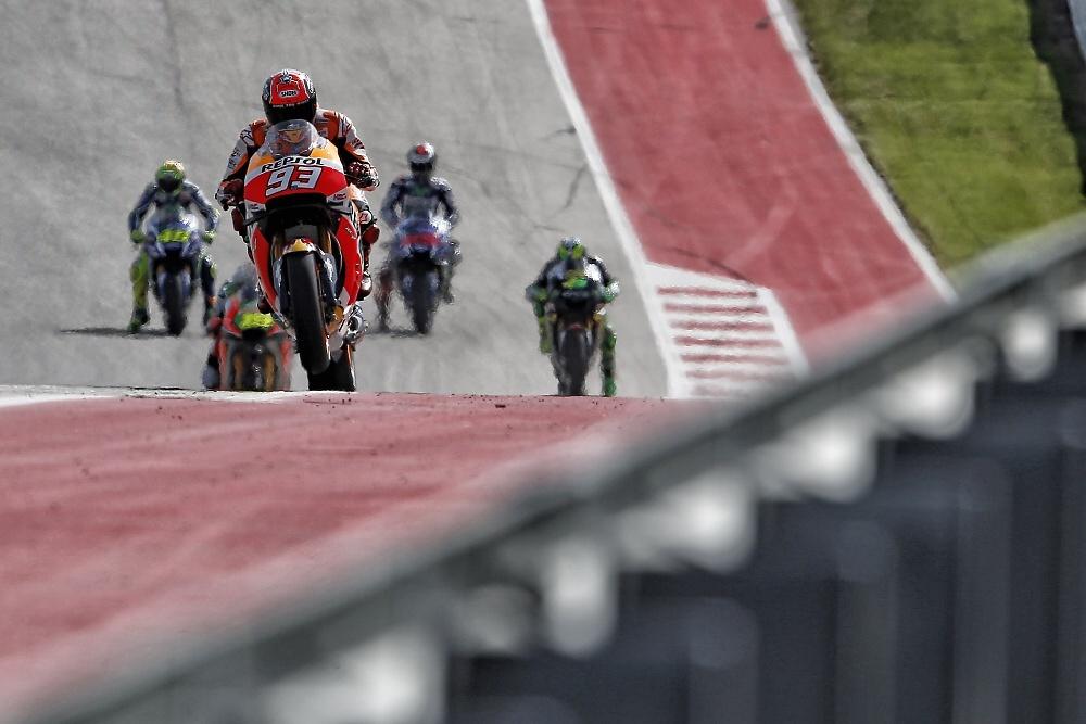 MotoGP: trať v Austinu nejvíc svědčí Marquezovi