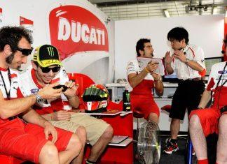 Valentino si pochvaluje novou Desmosedici GP12
