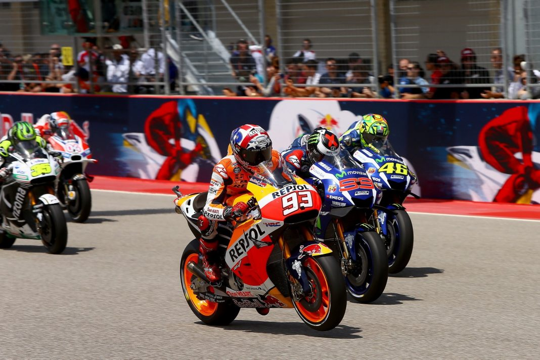 MotoGP USA: nezastavitelný Marquez a spousta pádů