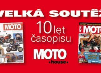 Vyhlášení velké jarní soutěže s 10. výročím časopisu Motohouse
