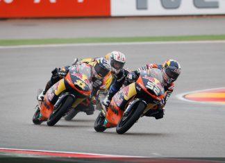 Moto3 Valencia: na vodě vyhrál Kent