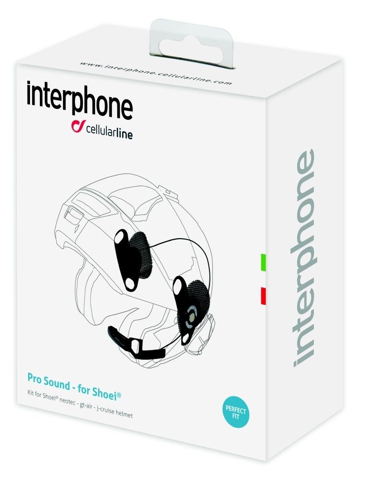 Interphone komfortní kity pro Shoei a Shubert