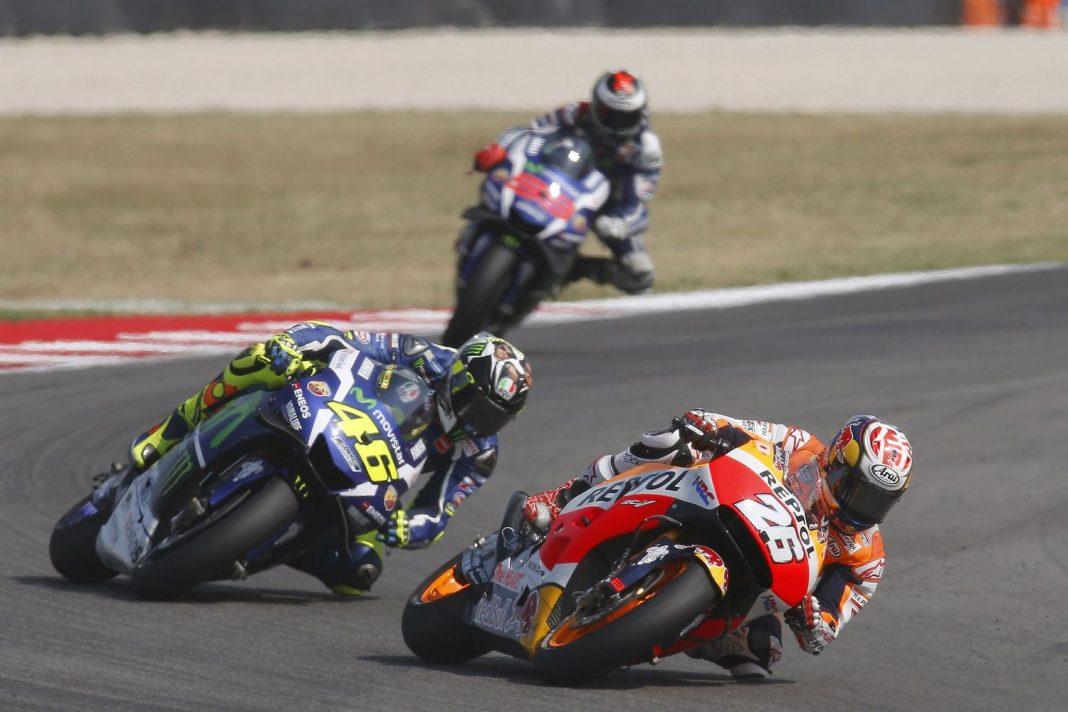 MotoGP Misano: Dani Pedrosa sebral vítězství Rossimu