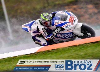BRNO: Český tým v Moto2 a umístění v top ten pro Anthony Westa!