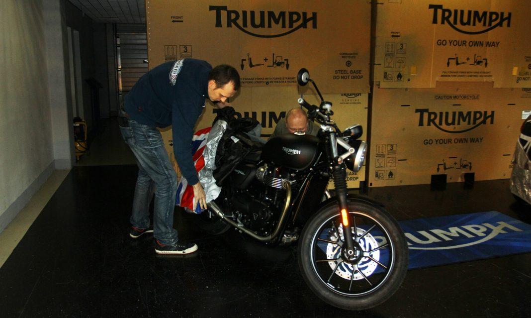 Triumph Praha ukázal novinky 2016