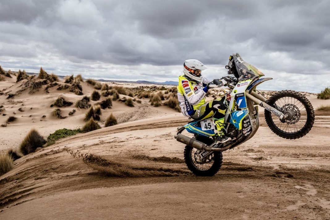 Rally Dakar 2017: 10. etapa - útok Svitka i  Klymčiwa