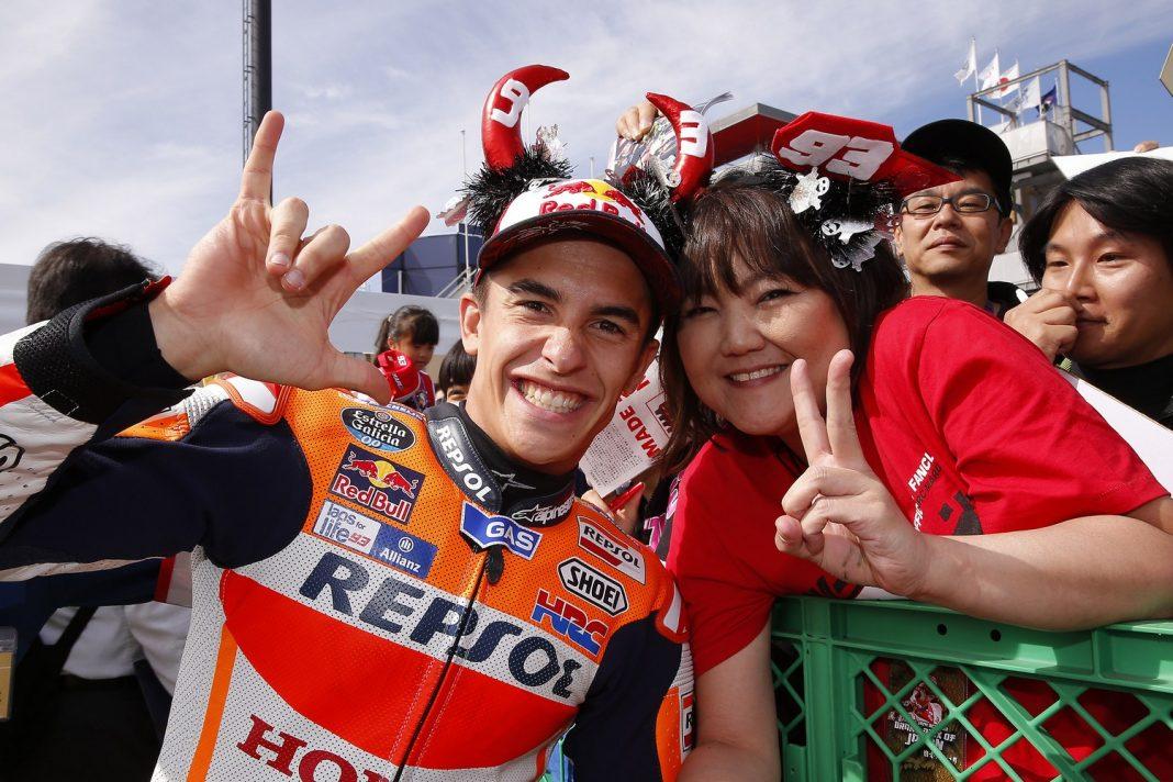 MotoGP Japonsko: letošním mistrem světa královské třídy se stal Marc Marquez