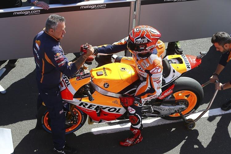 MotoGP: Osmá pole position sezony pro Marc Márqueze