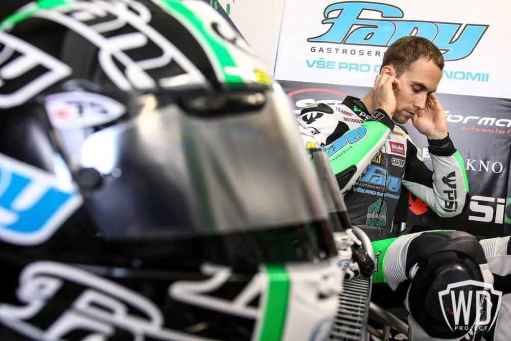 MS Supersport: Ondra Ježek aktuálně z Aragonu