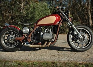 Honda Gold Wing Custom by Ric Becker