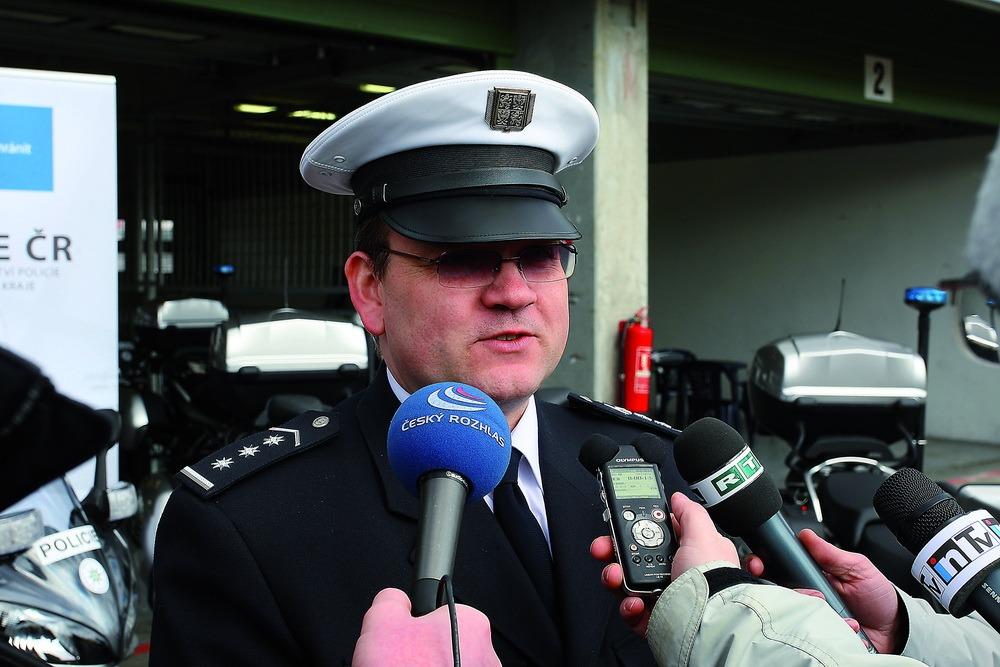 Leoš Tržil - ředitel dopravní policie