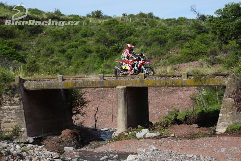 Rally Dakar 2016: 4. etapa Ondřej Klymčiw celkově 24