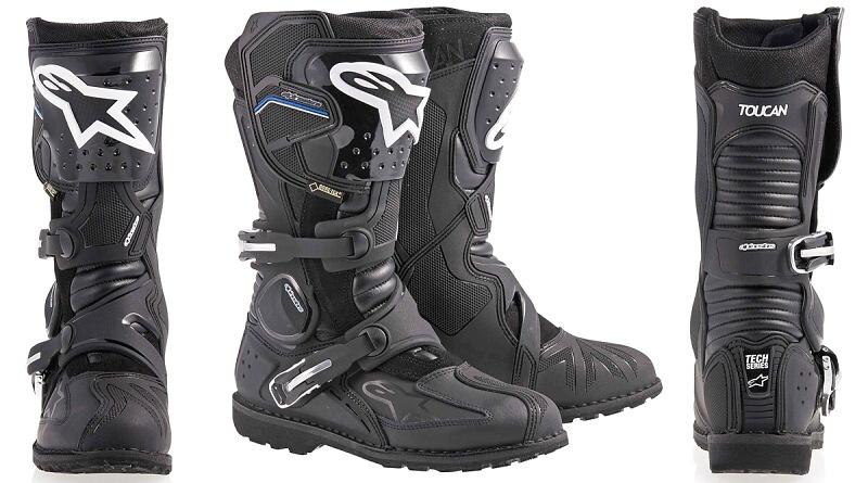 Špičkové boty Alpinestars Toucat GTX pro cestovní enduro