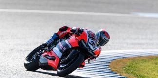 WSBK test Portimao: v sobotu byla nejrychlejší Ducati