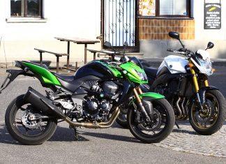 Test z archivu: Yamaha FZ8 a Kawasaki Z750R