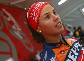 Španělská holčička  na Dakaru