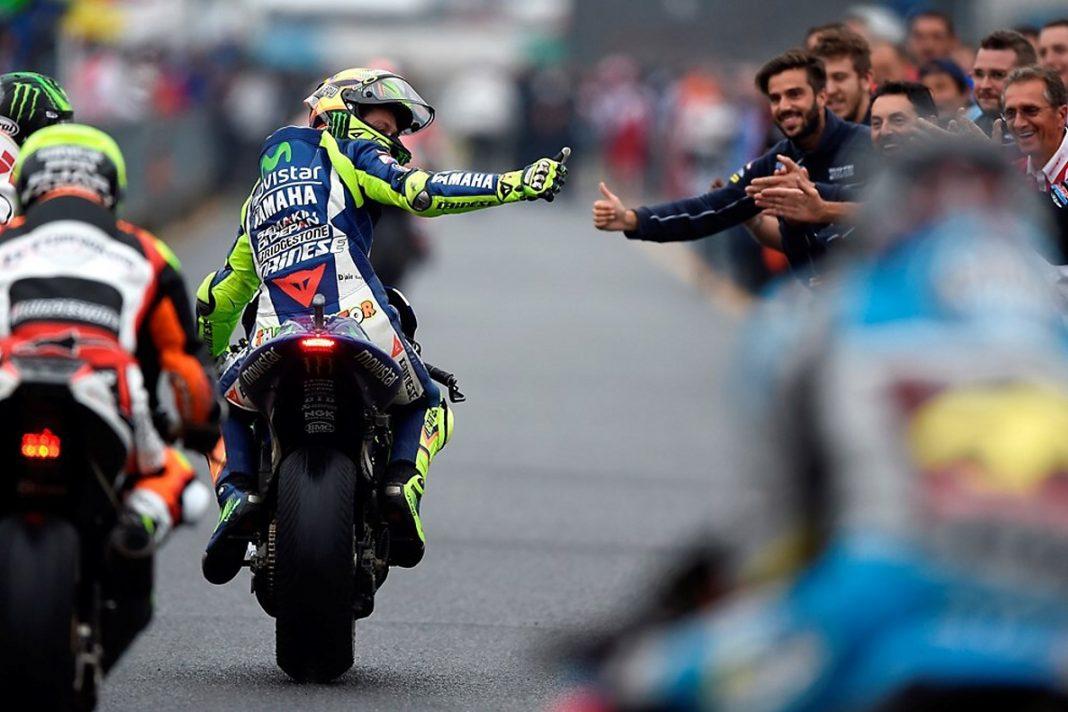 MotoGP: Rossi navýšil náskok na 18 bodů