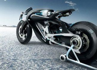 Koncept Saline Bird: motorka na vzduch