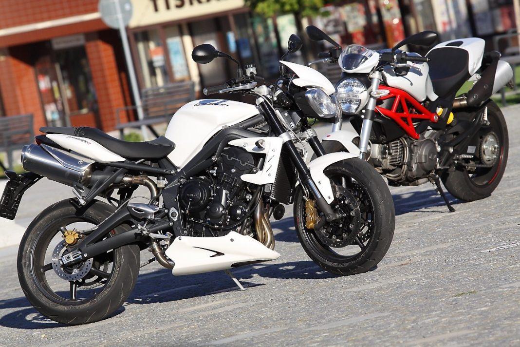 MY2012:Srovnávací test Ducati Monster 796 vs. Triumph Street Triple R