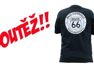 Soutěž: Hrajte o triko ke knize Billy Connolly a jeho Route 66