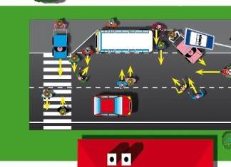 Jak se chovat prakticky na silnici: část V