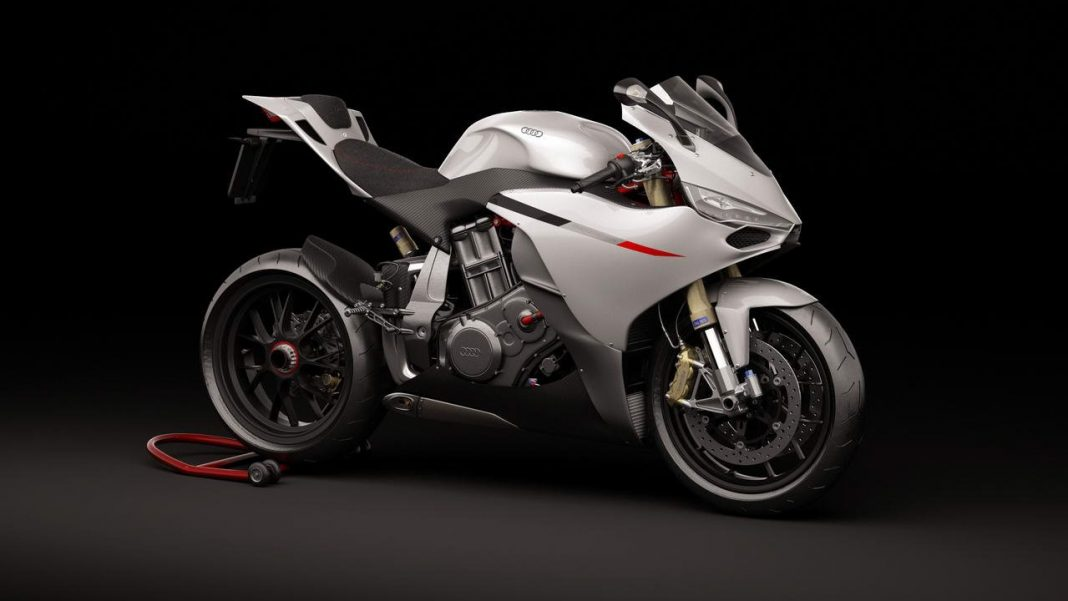 Designová studie Audi Motorrad 10R