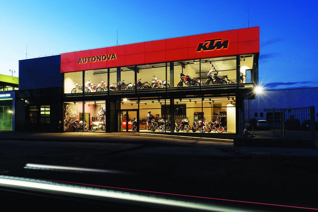Práce u motorek: KTM Autonova Brno shání mechanika