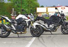 TEST (ne)jen pro dívky: Suzuki SFV650 a Suzuki GSR750