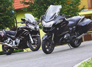 Srovnání: BMW R 1200 RT vs. Yamaha FJR1300A