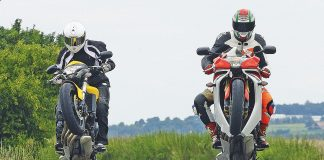 Honda CB600 Hornet vs. Honda CBR600F