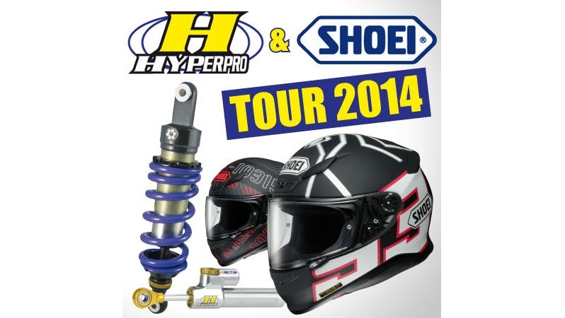 Hyperpro & Shoei Tour 2014 startuje tento víkend