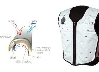Konec paření se – Macna Dry Cooling Vest