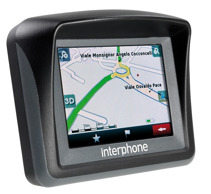 Interphone přichází s vlastní GPS navigací