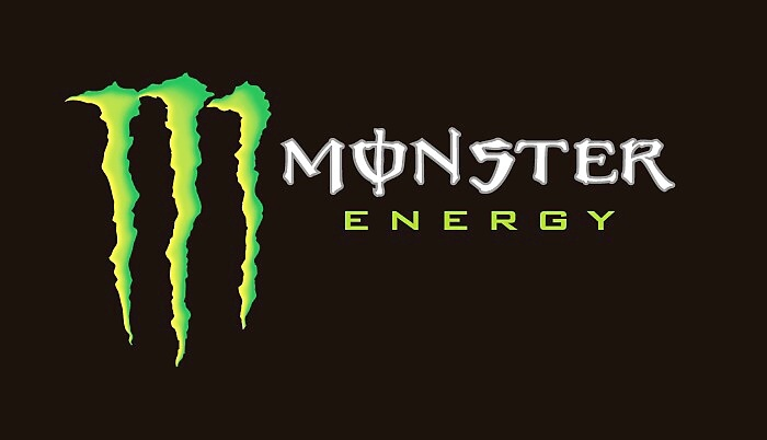 Tipovačka s Monster Energy