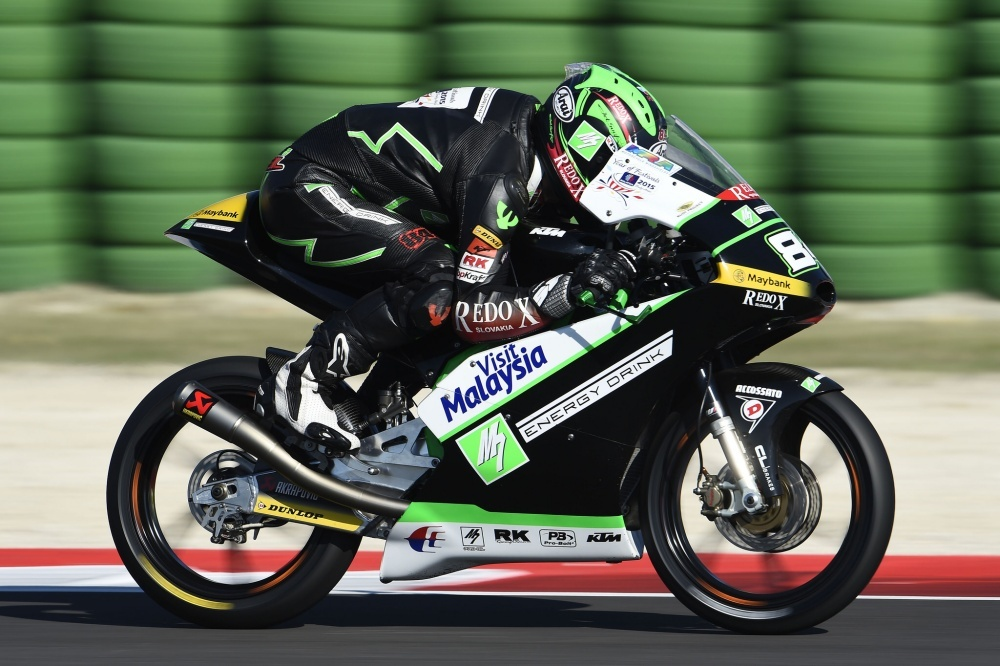 Moto3: Kuba Kornfeil hovoří o studené sprše