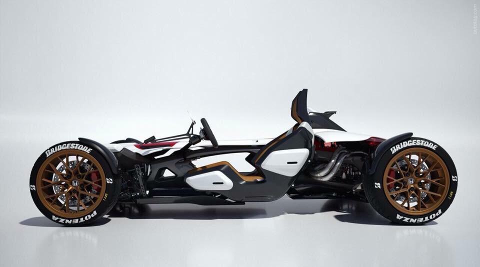 Čtyři kola a motor z MotoGP – Honda Project 2&4