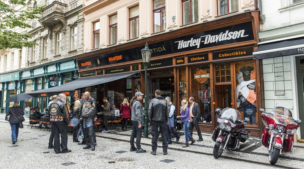 Harley-Davidson otevřel nový shop v centru Prahy