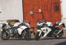 SROVNÁVACÍ TEST: Suzuki GSX-R1000 vs Aprilia RSV4 R  MY2010