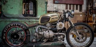 BMW R100 Twin Turbo od Boxer Metal