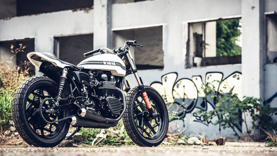 OneHandMade Triumph Thruxton Super Ten