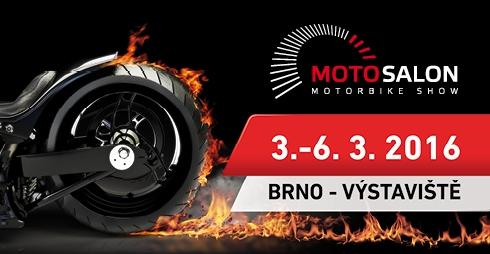 Motohouse vás zve do Brna na veletrh Motosalon 2016