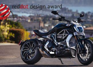 Ducati XDiavel S oceněn cenou Red Dot