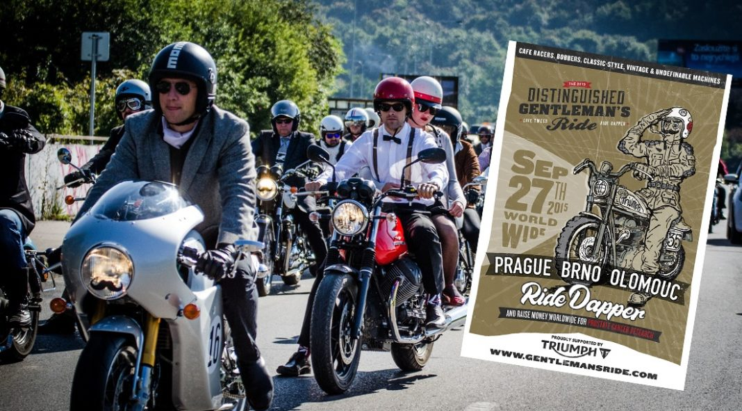 Podpořte The Distinguished Gentleman's Ride