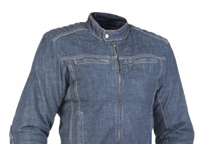 M-B-W James Denim Jacket – pánská džínová motobunda
