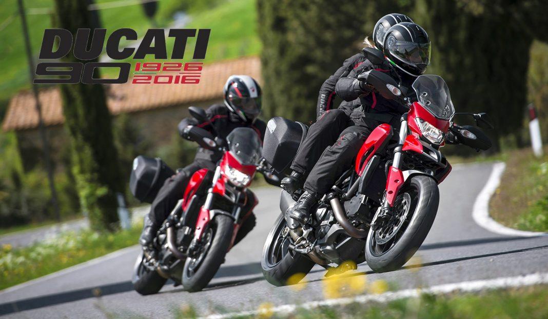 Ducati vyhlašuje soutěž Anniversary Ride