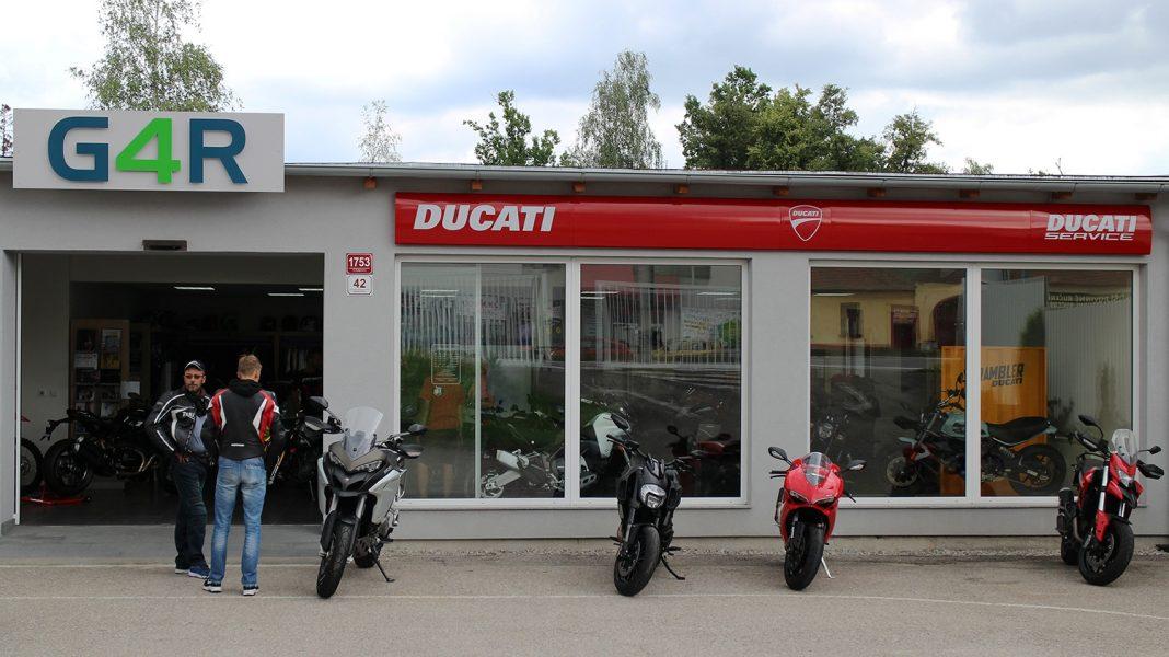 Ducati s novým dealerstvím v Českých Budějovicích