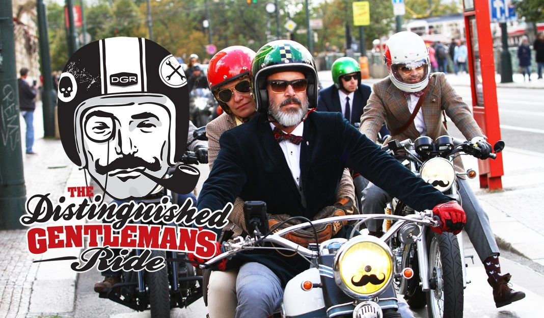The Distinguished Gentleman's Ride 2016 se blíží