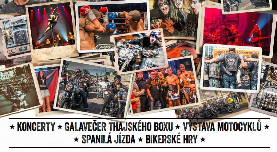 Prague Harley Days 2016 již tento víkend v plné parádě + video