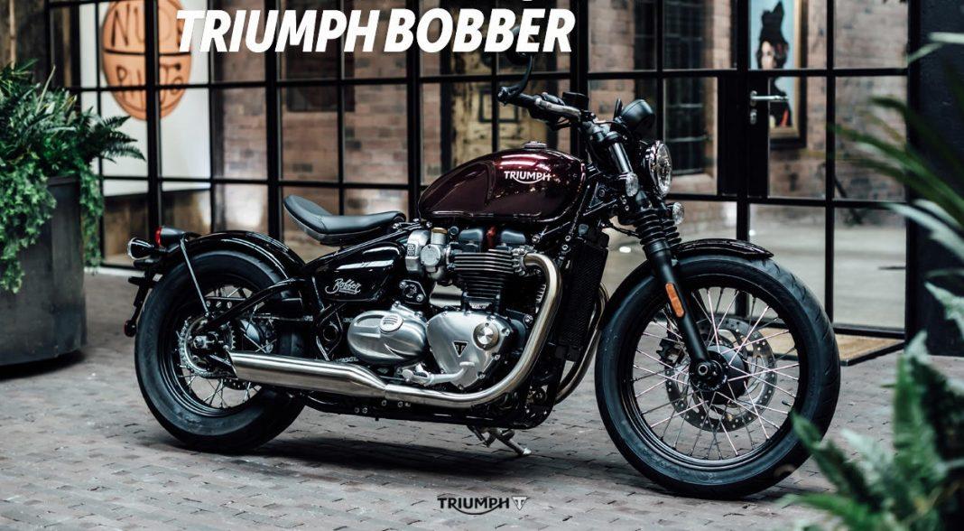 NOVINKA 2017: Triumph Bonneville Bobber